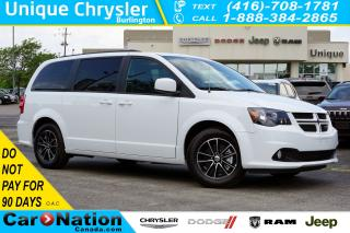 Used 2019 Dodge Grand Caravan GT| SAFETY SPHERE| NAV| DVD| PWR DOORS/TAILGATE for sale in Burlington, ON