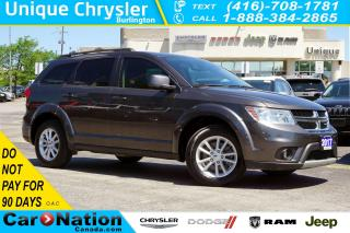 Used 2017 Dodge Journey SXT| NAV| DVD| SUNROOF| ALPINE SOUNDS & MORE for sale in Burlington, ON