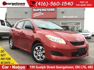 Used 2014 Toyota Matrix AUTO | BLUE TOOTH | ONLY 95,380KM | PWR GROUP for sale in Georgetown, ON