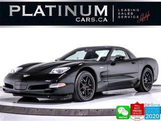 Used 2003 Chevrolet Corvette Z06, 405HP, 6 SPEED MANUAL, CLEAN CARFAX, BOSE for sale in Toronto, ON