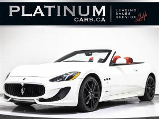 Used 2017 Maserati GranTurismo 4.7L V8, 454HP, MC SPORTLINE 4.7S, NAV, RED INT. for sale in Toronto, ON