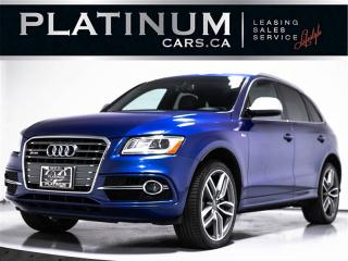 Used 2015 Audi SQ5 3.0T Quattro TECHNIK, NAVI, PANO, BANG&OLUFSEN for sale in Toronto, ON