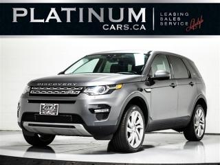 Used 2016 Land Rover Discovery Sport HSE, NAVI, PANO, HEATED COOLED SEATS, CAM for sale in Toronto, ON