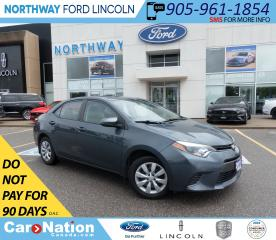 Used 2015 Toyota Corolla LE | HTD SEATS | BACK UP CAM | TOUCHSCREEN | for sale in Brantford, ON