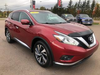 Used 2015 Nissan Murano Platinum for sale in Charlottetown, PE