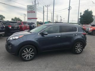 Used 2017 Kia Sportage EX Tech w/Black  AWD, NAVIGATION, TOIT for sale in St-Hubert, QC