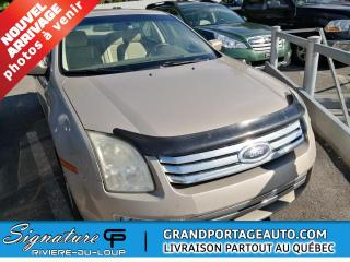 Used 2006 Ford Fusion **PETIT PRIX** FUSION SEL for sale in Rivière-Du-Loup, QC