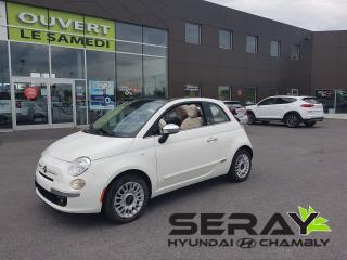 Used 2015 Fiat 500 C Lounge, Mags, Cuir for sale in Chambly, QC