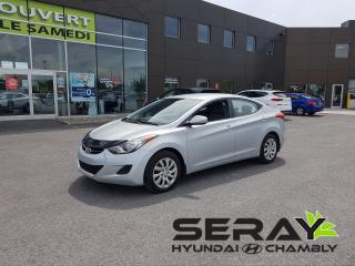 Used 2011 Hyundai Elantra GL A/C for sale in Chambly, QC