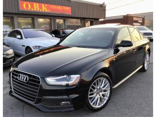 Used 2015 Audi A4 S LINE-QUATTRO for sale in Laval, QC