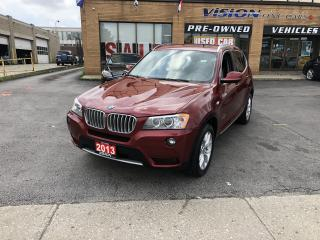 Used 2013 BMW X3 2013 BMW X3 - AWD 4dr 28i for sale in North York, ON