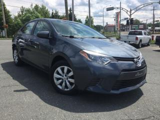 Used 2015 Toyota Corolla LE   ''JAMAIS ACCIDENTÉ''  AUTOMATIQUE for sale in St-Malachie, QC