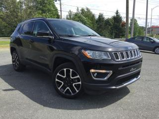 Used 2018 Jeep Compass Limited 4x4 TOIT PANO. CUIR for sale in St-Malachie, QC