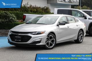 Used 2019 Chevrolet Malibu RS Apple CarPlay & Android Auto, Backup Camera for sale in Coquitlam, BC