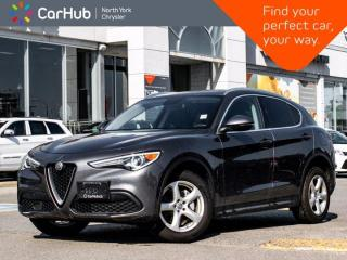 Used 2018 Alfa Romeo Stelvio Q4 BackUp Camera Bluetooth Heated Seats Heated Steering Memory Seats for sale in Thornhill, ON