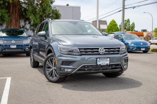 New 2019 Volkswagen Tiguan Highline <b>*DIGITAL DASH* *LANE ASSIST* *ADAPTIVE CRUISE* *LEATHER* *SUNROOF*<b> for sale in Surrey, BC