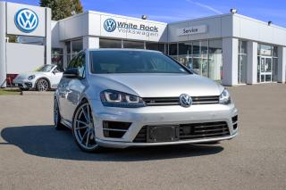 Used 2017 Volkswagen Golf R 2.0 TSI *MANUAL* *APP CONNECT* *DRIVERS ASSIST* *NAVI* for sale in Surrey, BC