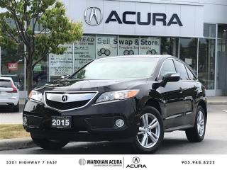 Used 2015 Acura RDX at V6 AWD, Moonroof, Heated Seats for sale in Markham, ON