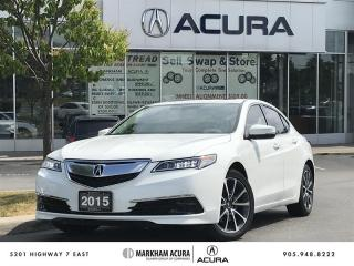 Used 2015 Acura TLX 3.5L P-AWS w/Tech Pkg V6 290HP, Tints, Navi, Backup Cam for sale in Markham, ON
