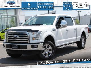 Used 2016 Ford F-150 XLT XTR 4X4**6 PLACES*CAMERA*BLUETOOTH*A/C* for sale in Victoriaville, QC