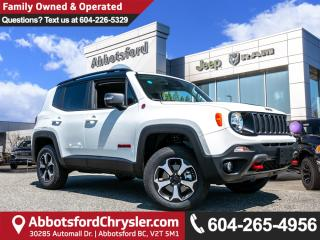 New 2019 Jeep Renegade Trailhawk for sale in Abbotsford, BC