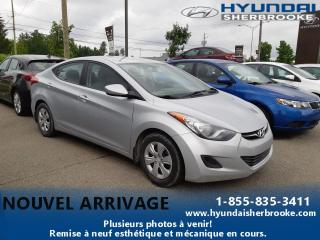 Used 2013 Hyundai Elantra L+AUTO+DEMARREUR+GRP ÉLECTRIQUE+CD/USB for sale in Sherbrooke, QC