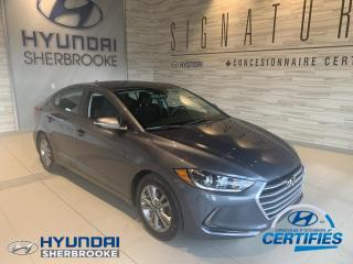 Used 2017 Hyundai Elantra GL+CAMERA+BANCS/VOLANT CHAUF+ANGLES-MORT for sale in Sherbrooke, QC