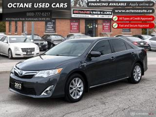 Used 2012 Toyota Camry HYBRID XLE Navi! B.Up Cam! Sunroof! for sale in Scarborough, ON