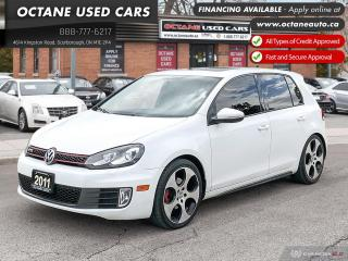 Used 2011 Volkswagen Golf GTI 5-Door Leather! Certified! Navi! for sale in Scarborough, ON