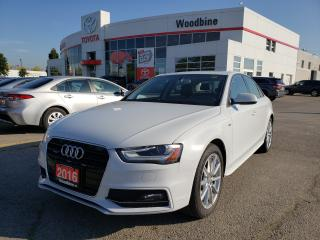 Used 2016 Audi A4 2.0T Progressiv plus S-LINE | LUXURY | ALL WHEEL DRIVE for sale in Etobicoke, ON
