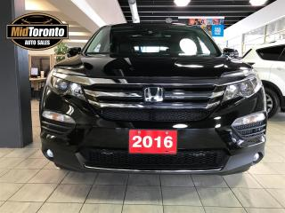 Used 2016 Honda Pilot Touring | One Owner | No Accidents | Honda Serviced | Excellent Condition for sale in North York, ON