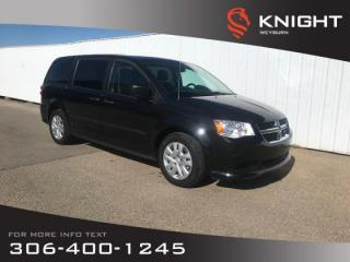 Used 2016 Dodge Grand Caravan Canada Value Package | 3rd Row Seating | Keyless Entry | Low KM for sale in Weyburn, SK