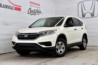 Used 2016 Honda CR-V LX 2WD for sale in Blainville, QC