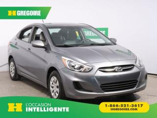 Used 2016 Hyundai Accent L for sale in St-Léonard, QC