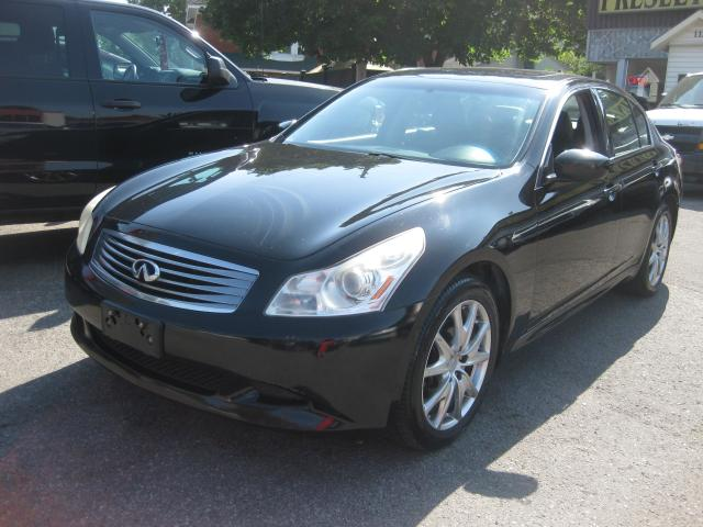 2009 Infiniti G37 Sport AWD 6cyl Auto AC Sunroof Htd Leather Cruise