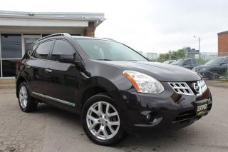 Used 2013 Nissan Rogue SL 360CAMERAS|NAV|LEATHER|SUNROOF for sale in Mississauga, ON