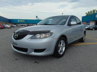Used 2005 Mazda MAZDA3 Berline 4 portes GS boîte automatique for sale in St-Eustache, QC