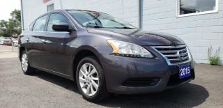 Used 2015 Nissan Sentra SV AUTO ALLOYS ACCIDENT FREE CLEAN CAR FAX for sale in Brampton, ON