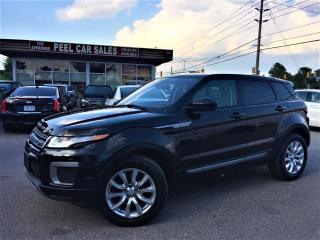 Used 2016 Land Rover Range Rover Evoque NAV|PANOROOF|LEATHER|ALLOYS|CERTIFIED AND MORE! for sale in Mississauga, ON