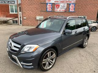 Used 2013 Mercedes-Benz GLK 250 BlueTec/DIESEL/AWD/NO ACCIDENT/C for sale in Cambridge, ON