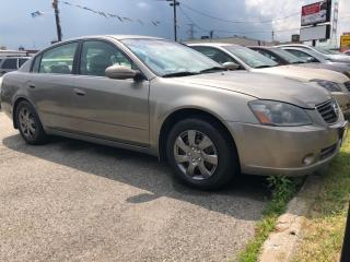 Used 2006 Nissan Altima 2.5 S, 3 YR WARRANTY, CERTIFIED for sale in Woodbridge, ON