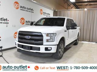 Used 2016 Ford F-150 Lariat, 3.5L V6, Short box, Ecoboost, SuperCrew Cab, Navigation, Heated/Cooled leather seats, Heated steering wheel, Backup camera, Sunroof, Bluetooth for sale in Edmonton, AB