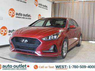 Used 2018 Hyundai Sonata Sport, 2.4L i4, Fwd, Heated leather seats, Heated steering wheel, Sunroof for sale in Edmonton, AB