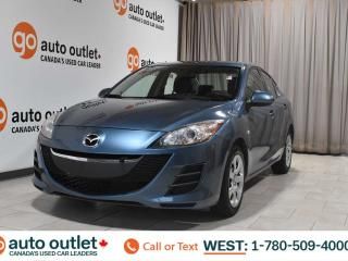 Used 2010 Mazda MAZDA3 Gx, 2.0L I4, Fwd, Cloth seats for sale in Edmonton, AB
