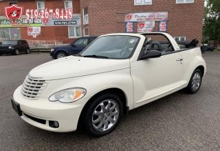 Used 2007 Chrysler PT Cruiser Touring CONVERTIBLE/NO ACCIDENT/NO RUST/LOW KMS for sale in Cambridge, ON