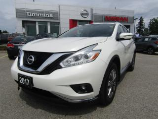 Used 2017 Nissan Murano SL for sale in Timmins, ON