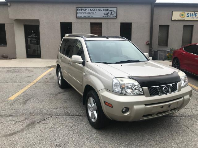 2005 Nissan X-Trail LE AWD,LEATHER,SUNROOF ! CERTIFIED !