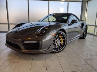 Used 2018 Porsche 911 Turbo S 2dr AWD Cabriolet for sale in Edmonton, AB