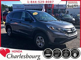 Used 2016 Honda CR-V LX ***40 291 KM**UN PROPRIÉTAIRE** for sale in Charlesbourg, QC