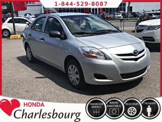 Used 2007 Toyota Yaris BERLINE **AUCUN ACCIDENT** for sale in Charlesbourg, QC